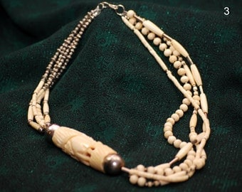 Vintage ivory colored necklace