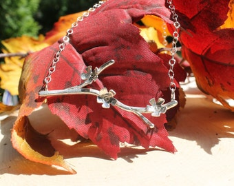Blossom Branch Necklace