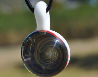 Spiral Pendant with Necklace