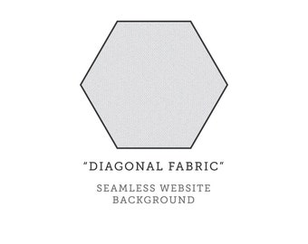 Seamless Website Background Design - Diagonal Fabric Tile - For Blogs, Twitter, Websites - INSTANT DOWNLOAD