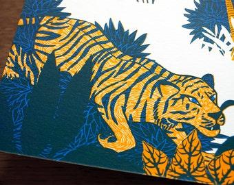 Panoramic book print