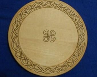 Celtic Knotwork Serving Platter