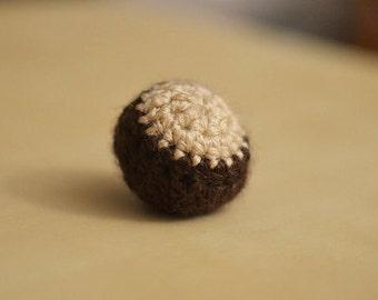 Buckeye (x2) Cat Toy Catnip Crochet Ball