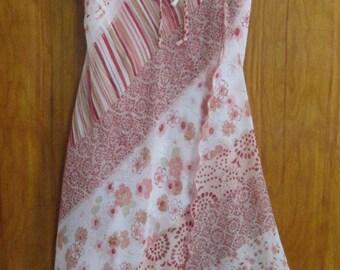 HOTKISS Spaghetti Strap Dress, Size Small, Pink