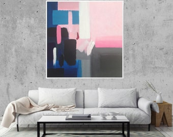 Abstract Art Painting | Modern Abstract Art | Abstract Painting | Abstract Art | Home Decor | Modern Abstract Painting | 24x24 inch Canvas