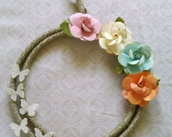 Delicate Butterflies Wreath
