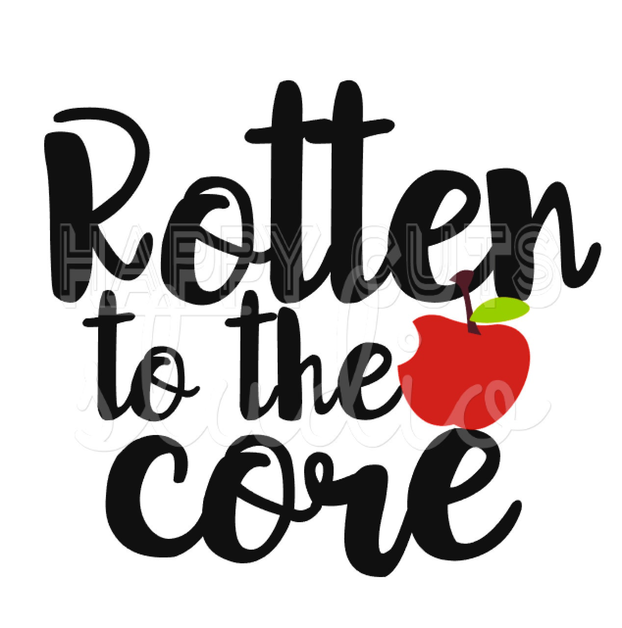 rotten to the core   disney descendants matching family apple core clip art free Apple Core Graphics