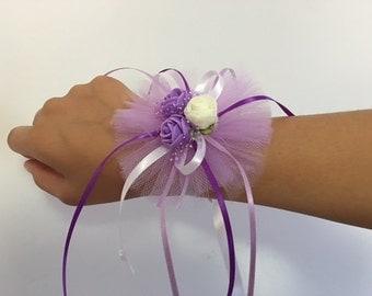 Wristband Corsage