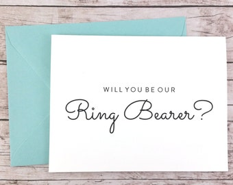 Will You Be Our Ring Bearer Card, Will You Be My Ring Bearer Card, Wedding Card- (FPS0016)