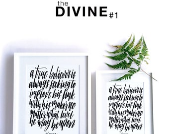 theDIVINE #1