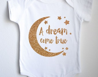 A Dream Come True Baby 1sie One-piece Bodysuit