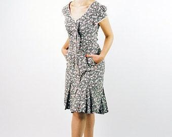 Retro Styled Marilyn Mini Dress OOAK