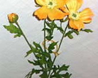 "LOT of THREE 31"" Cosmos Flowers * Choose from Three Colors * Each with Two 2-1/2"" Blooms & One 1"" Bud *  From Windward Silks"