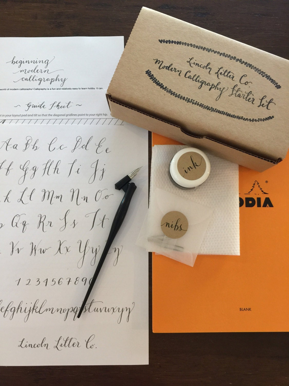 Modern Calligraphy Starter Set W Free Gift Calligraphy For
