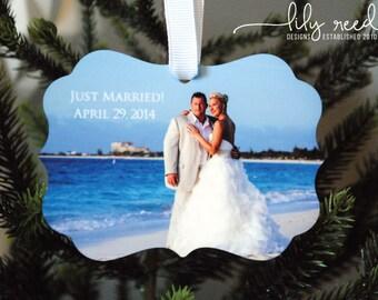 Photo Ornament - Personalized Photo Ornament - Monogrammed Ornament - Christmas Ornament - Custom Ornament - Design your Own