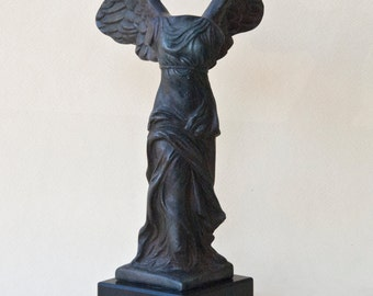 Greek Goddess Winged Victory, Nike Goddess Greek Art Sculpture, Museum Replica Victory Goddess, Ancient Greek Decor, Art Gift, Art Decor