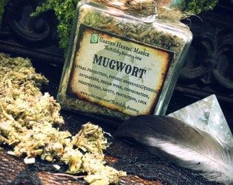 MUGWORT HERB, Herbal Apothecary Jar