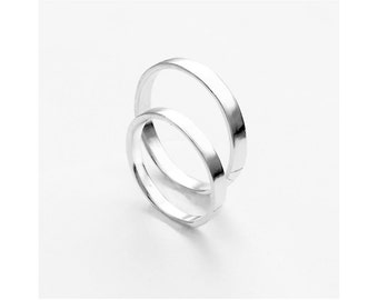 loto - couple rings/ promise rings/ promise ring set/ couple jewelry/ anniversary rings/ jewelry for ocuples/