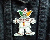 Krusty the Clown x Twisty the Clown Pin The Simpsons American Horror Story Freakshow Shrink Plastic Hand-drawn