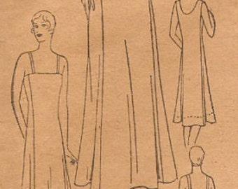 Misses' Vintage Excella 1930s Slip Sewing Pattern