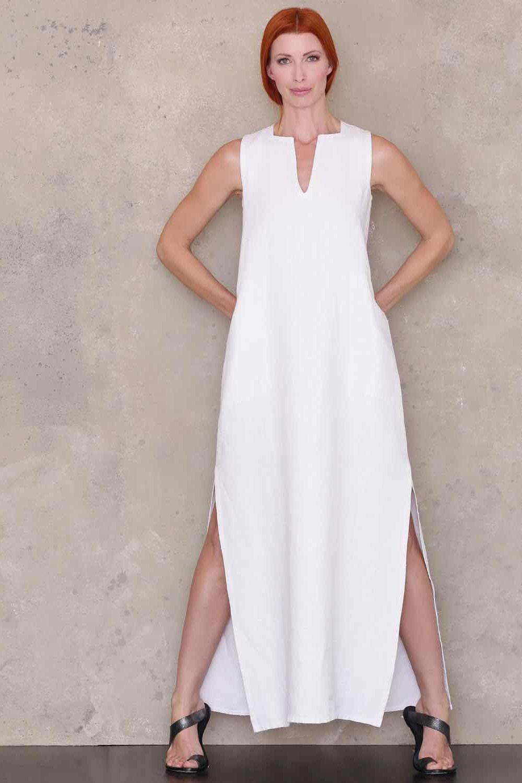 Women sewing pattern Linen Dress Pattern Long Dress Pattern