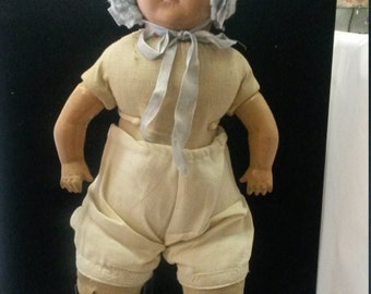 1940's Mama doll has some crazing