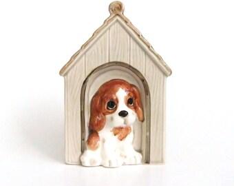 Dog House Bank, Vintage Puppy Dog Bank