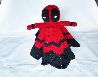 Deadpool Inspired Lovey/Security Blanket