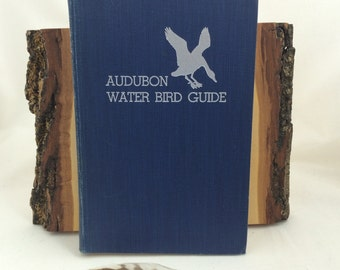Field Guide, 1951, Audubon Water Birds, Hardcover Bird Field Guide, Vintage Field Guide, Water Bird Guide, Bird Guides, Don Eckelberry