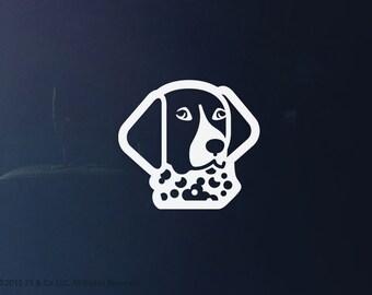 German Shorthaired Pointer Dog Vinyl Decal   Car Sticker, Decoration   25 & Co