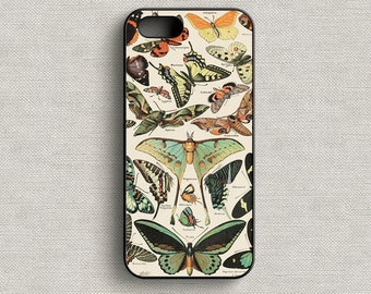 Vintage French Butterflies Phone Case iphone 5 5C 6 6+ 7 7+