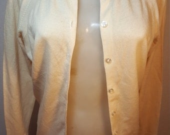 RESERVED.  FREE  SHIPPING    1950 Cashmere Cardigan