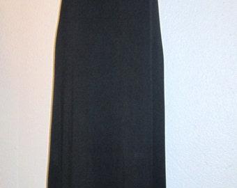 Black Full Slip