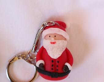 Santa Claus Keychain porcelain cold saeljana, bag, Briefcase...