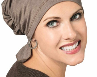 Ultra Soft Bamboo Scarf Beanie | Pre Tied Chemo Beanie Scarves for Women | Cancer Scarves | Head Scarfs for Cancer Patients | Headscarves
