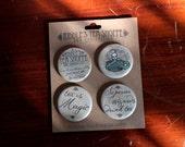 "Riddle's Tea Shoppe 1.25"" Pinback Buttons"