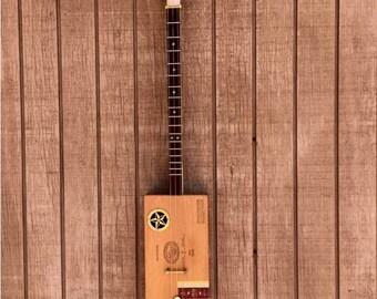 Playable Authentic Cigar Box Guitar