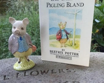 Beatrix Potter's Pigling Bland AND Book