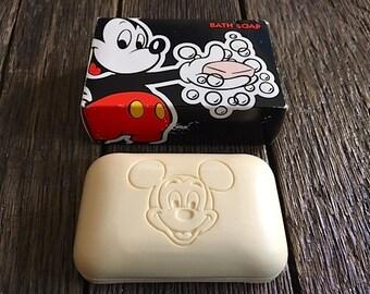 Mickey Mouse Soap Etsy