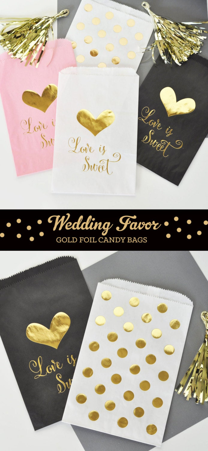 Wedding Favor Bags For Candy : Paper Candy Bags Wedding Favor Candy Bags Wedding Candy