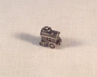 Gypsy articulated Caravan Charm vintage sterling silver .925 #761