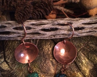 Hammered copper...
