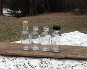 20 Bottles 1 oz 30 ml Corks Caps Clear Glass Bottles Empty Glass Bottle Wedding Favor Bottle Baptism Favor Holy Water Bottle Drink Me Favors