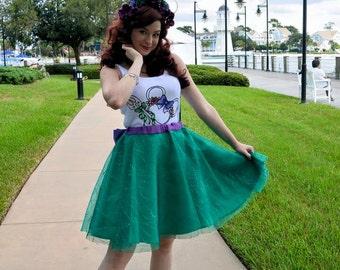 Mermaid Ariel Inspired Skirt