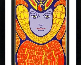 Grateful Dead Concert Poster Highest Quality 18x23