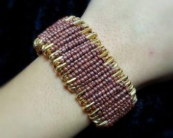 Chic Safety Pin Bracelet