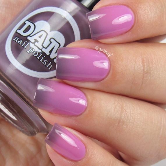 Pink Purple Nail Polish: Thermal Nail Polish Purple Nail Polish Pink Nail Polish