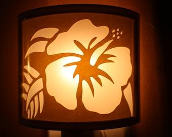 Hawaiian Hibiscus Flower night light