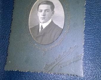 Vintage male portrait picture