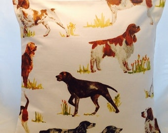 Gorgeous Doggie cushion covers.